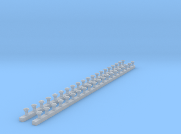Boschhörner 40Stck in Smooth Fine Detail Plastic