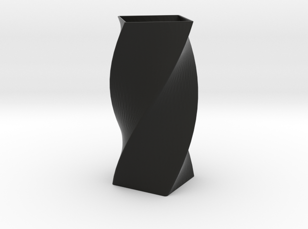 Vase Twirl in Black Strong & Flexible