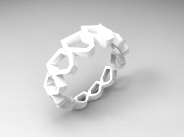 RingC1 in White Strong & Flexible