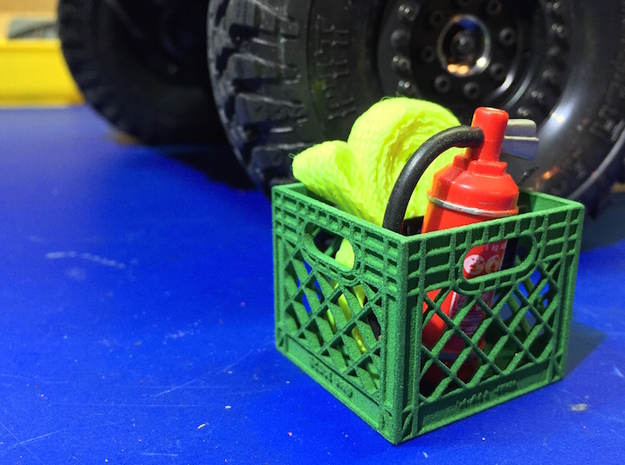 Milk Crate 1:10 Scale