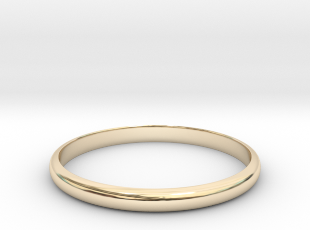 Standerd Ring Size 8 in 14K Gold