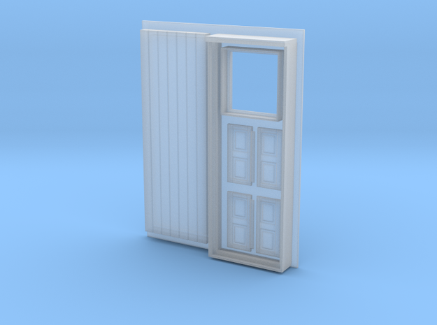 SIGUENZA STREET DOOR AND SMALL WINDOWS PARTS FOR P in Smooth Fine Detail Plastic