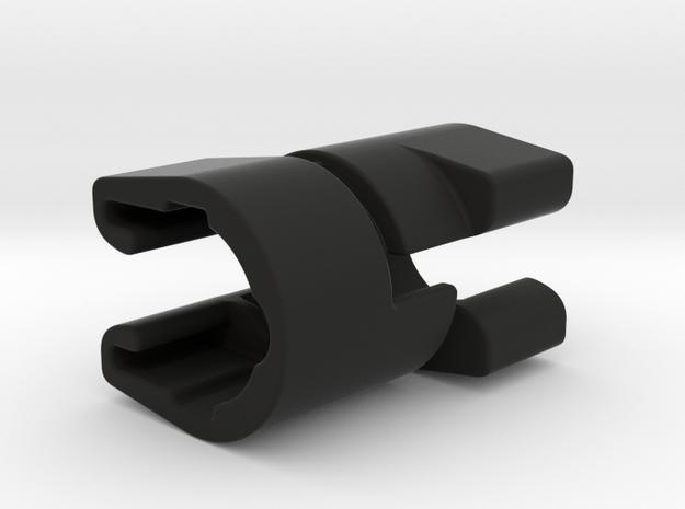 Clip Set for Original Bugaboo Wheelie Board in Black Natural Versatile Plastic