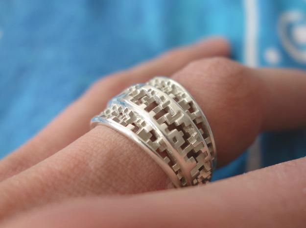 Tapered Pixel Ring