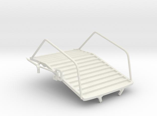Egress Platform in White Strong & Flexible