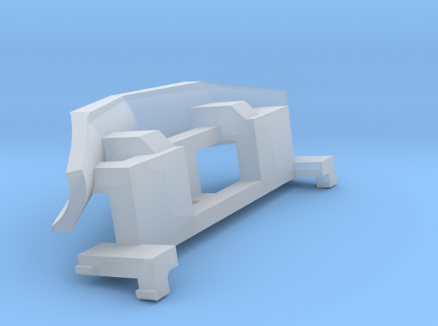 IORE Schneepflug_v1 TT 1:120 in Smooth Fine Detail Plastic