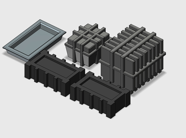 YT1300 DEAGO HALL BITS 2  in Smooth Fine Detail Plastic