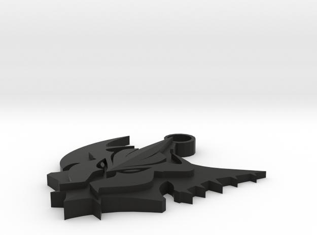 Pentakill Keychain in Black Strong & Flexible