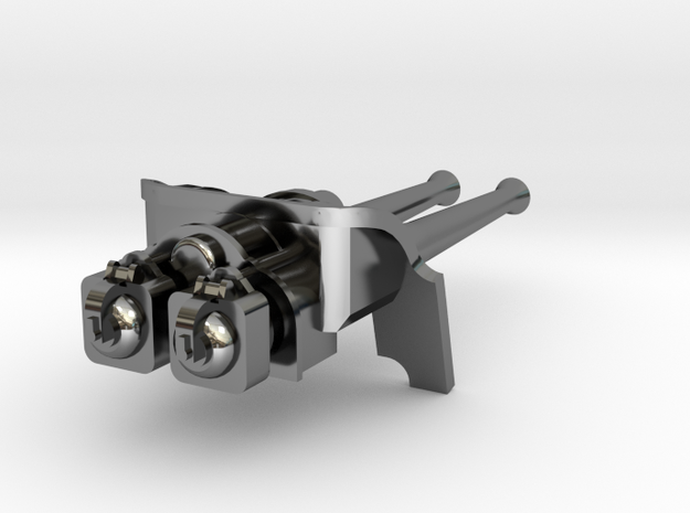 Bullhead Double Gun 3d printed