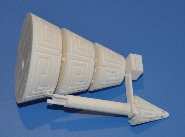 MazeCone 3d printed
