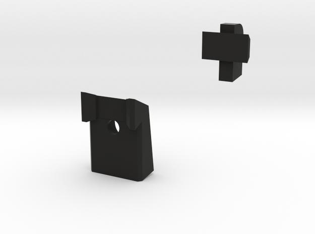 4.3 Fiber Set in Black Natural Versatile Plastic