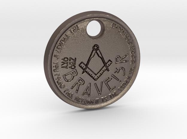 ZWOOKY Style 69 Sample - keychain loge in Stainless Steel
