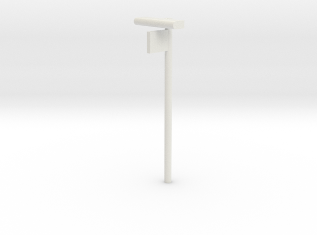 DSB Stations lampe med perronafsnit VIA 1/87 in White Natural Versatile Plastic