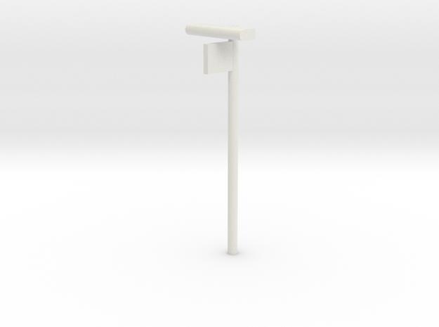 DSB Stations lampe med perronafsnit VIA 1/87 in White Natural Versatile Plastic