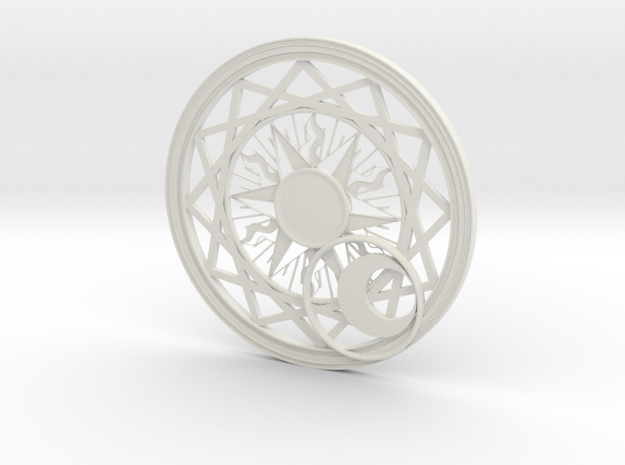 Magic Circle (Complete) in White Natural Versatile Plastic