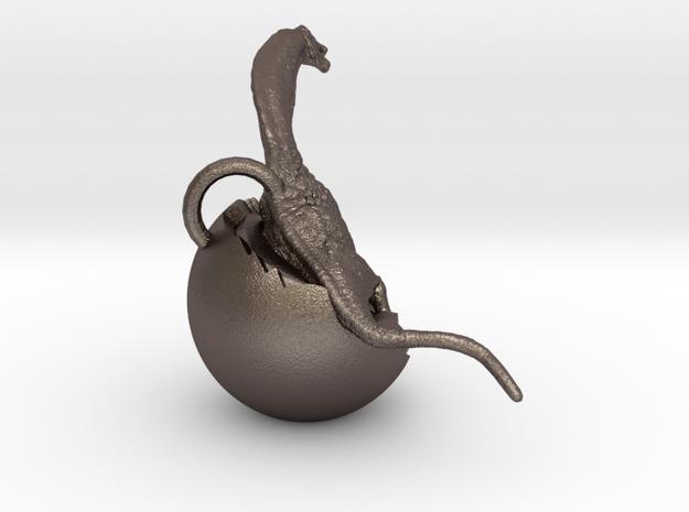 Dinosaur Charm 3d printed Dinosaur hatchling by ©2012 RareBreed