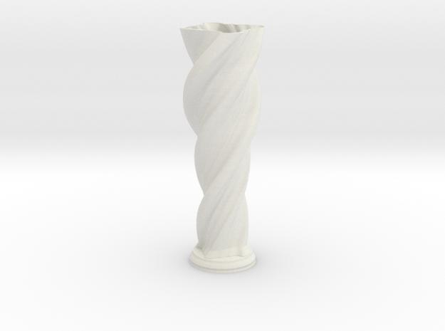 """Vase 'Anuya' - 40cm / 15.75"""" in White Strong & Flexible"""