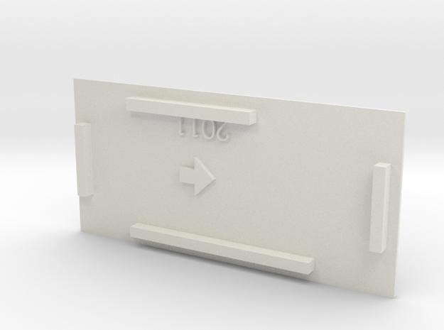 HOn30 Bandai boxcab FLAT roof 3d printed