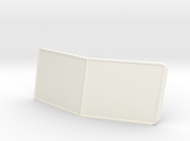 Pete style Windshield in White Processed Versatile Plastic
