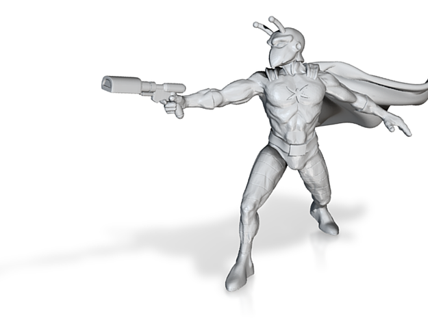 Bodacious Bug Man (Cape) 3d printed