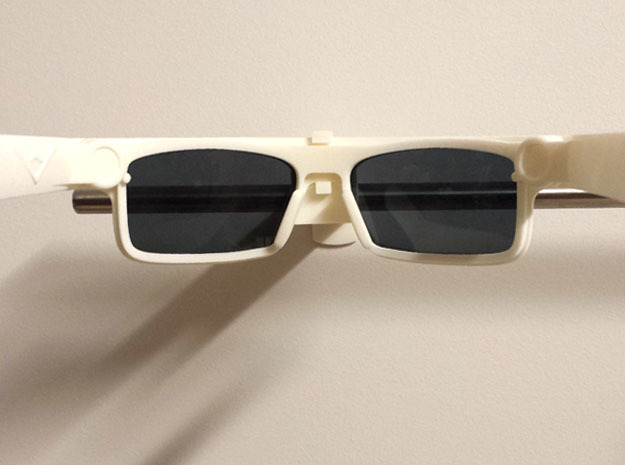 BoomGlasses 3d printed Into the frames
