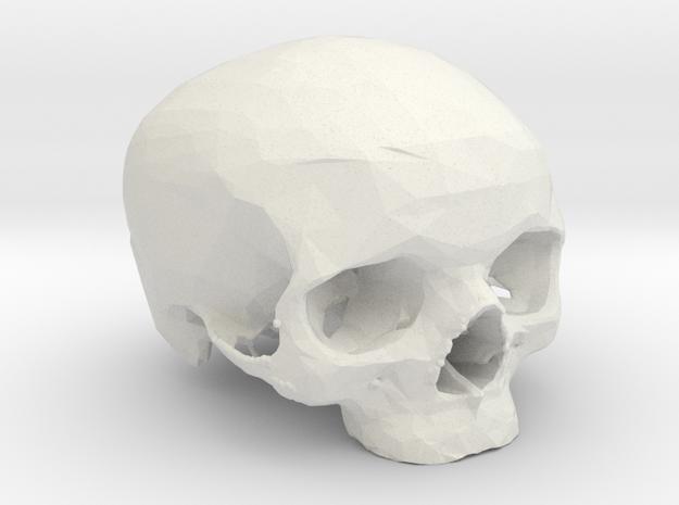 MySkull in White Strong & Flexible
