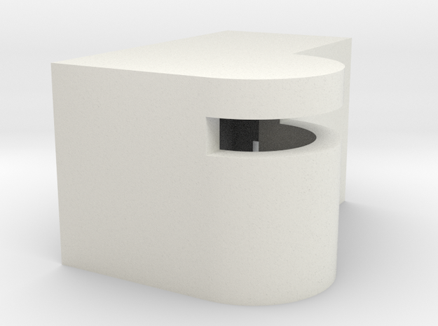 1/350 Concrete Bunker 4 in White Natural Versatile Plastic