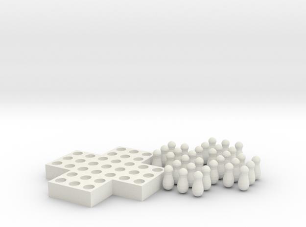 Senku in White Natural Versatile Plastic
