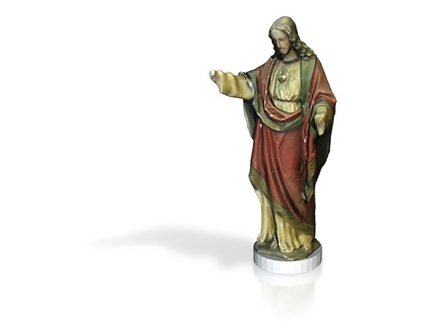 Jesus Christ miniature 5cm 3d printed