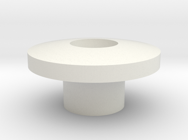 iStably Pro Ceramic - Gimbal Bearing Cap in White Strong & Flexible