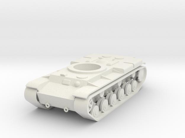 1/100 Standard KV Hull in White Natural Versatile Plastic