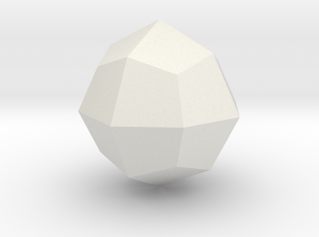 Deltoid icositetrahedron in White Strong & Flexible