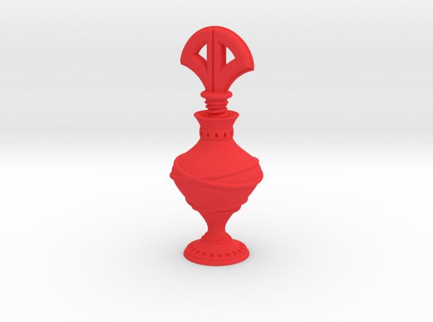 Eyeliner Bottle - Kohl in Red Strong & Flexible Polished