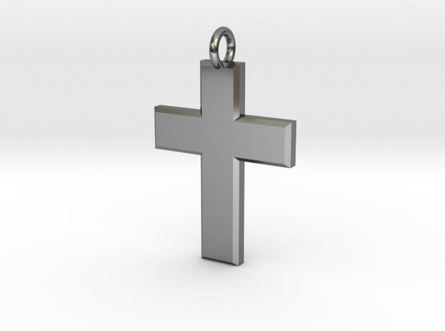 Cross2 in White Natural Versatile Plastic