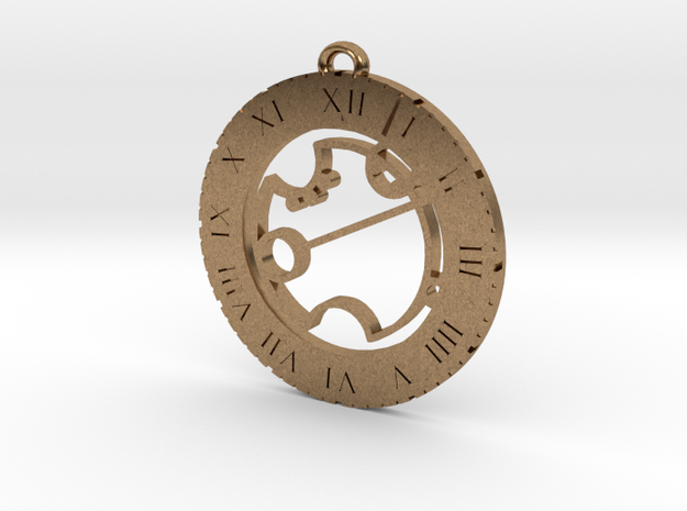 Tayrn - Pendant in Natural Brass