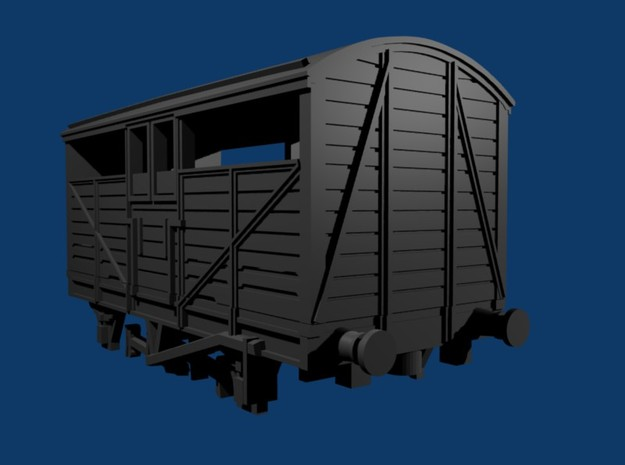 GWR - Mex B - 8 ton cattle wagon 3d printed