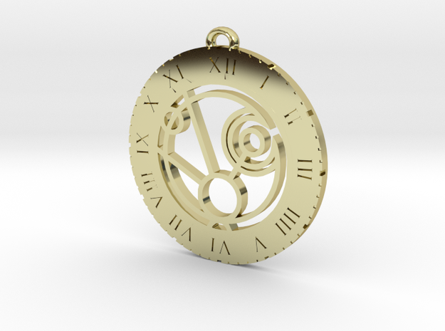 Maggie - Pendant in 18k Gold Plated Brass