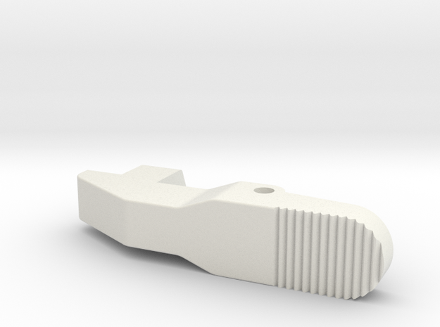 Airsoft G36 Magazine Adapter Catch Improved-Ver in White Natural Versatile Plastic