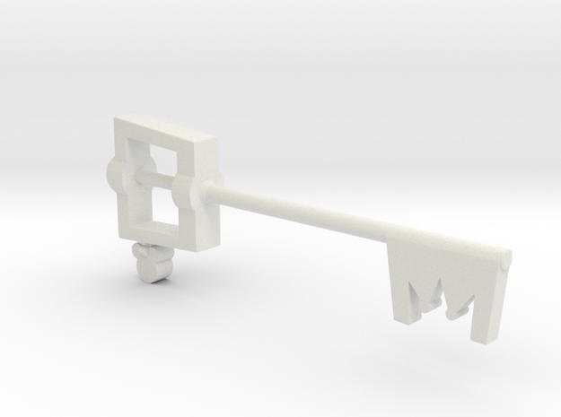 Keyblade in White Strong & Flexible