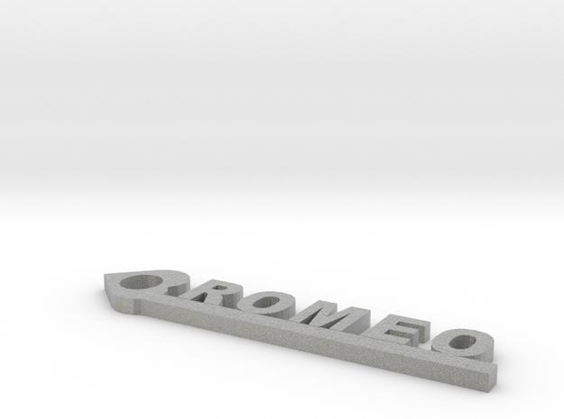 Romeo in Metallic Plastic