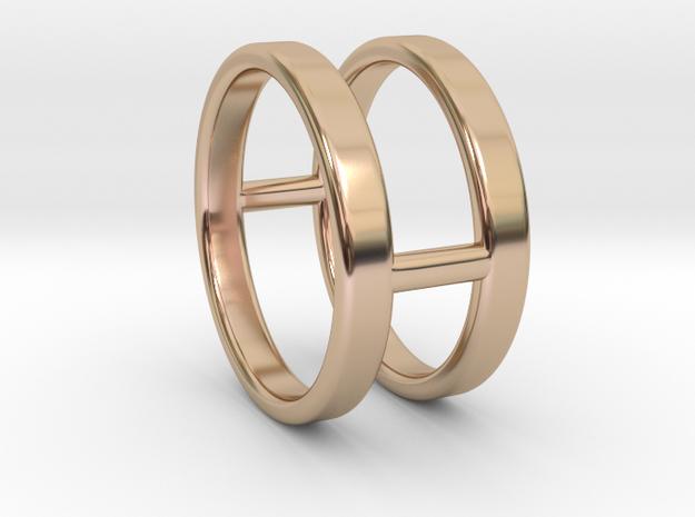 Minimalist Double Bar Ring