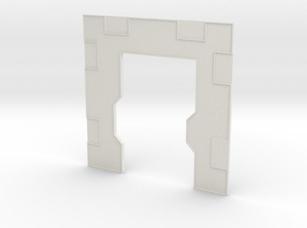 Right Interior door in White Natural Versatile Plastic