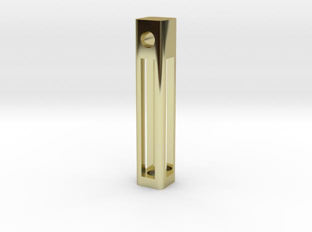 A Tritium Pendant 3d printed
