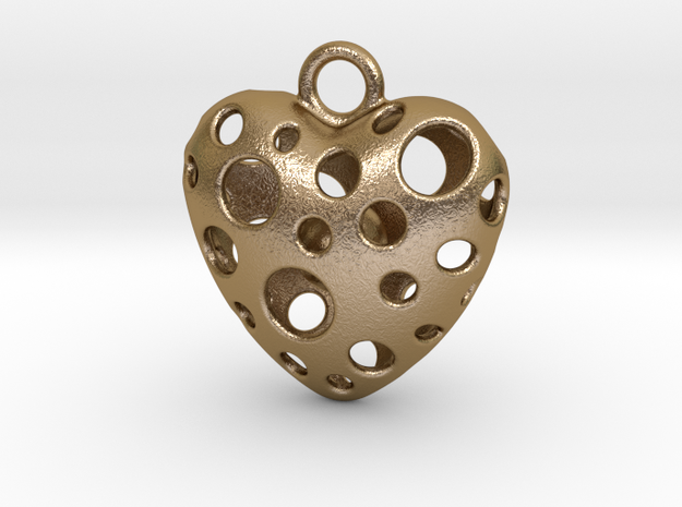 IN YOUR HEART in Polished Gold Steel
