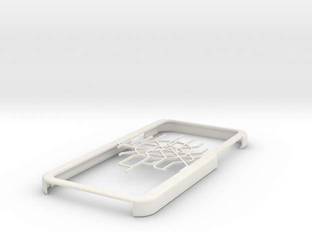 Moscow Metro map iPhone 6 case in White Natural Versatile Plastic