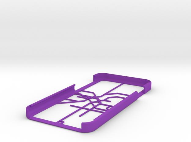 LA Metro Rail map iPhone 6 case