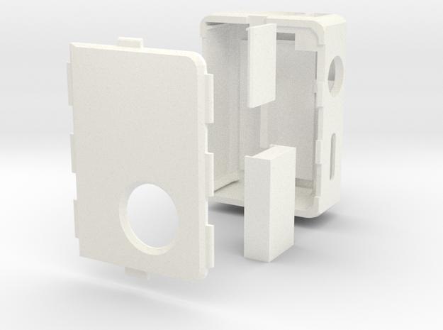 MarkV v3 Box Mod Bottom Feeder in White Processed Versatile Plastic
