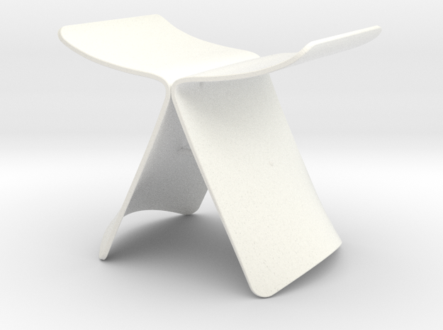 Butterfly Style Stool 1/12 Scale