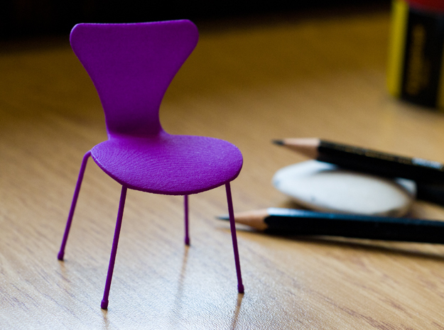 Series 7 Style Chair 1/12 Scale