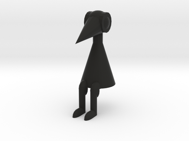 Crow Person (sitting)